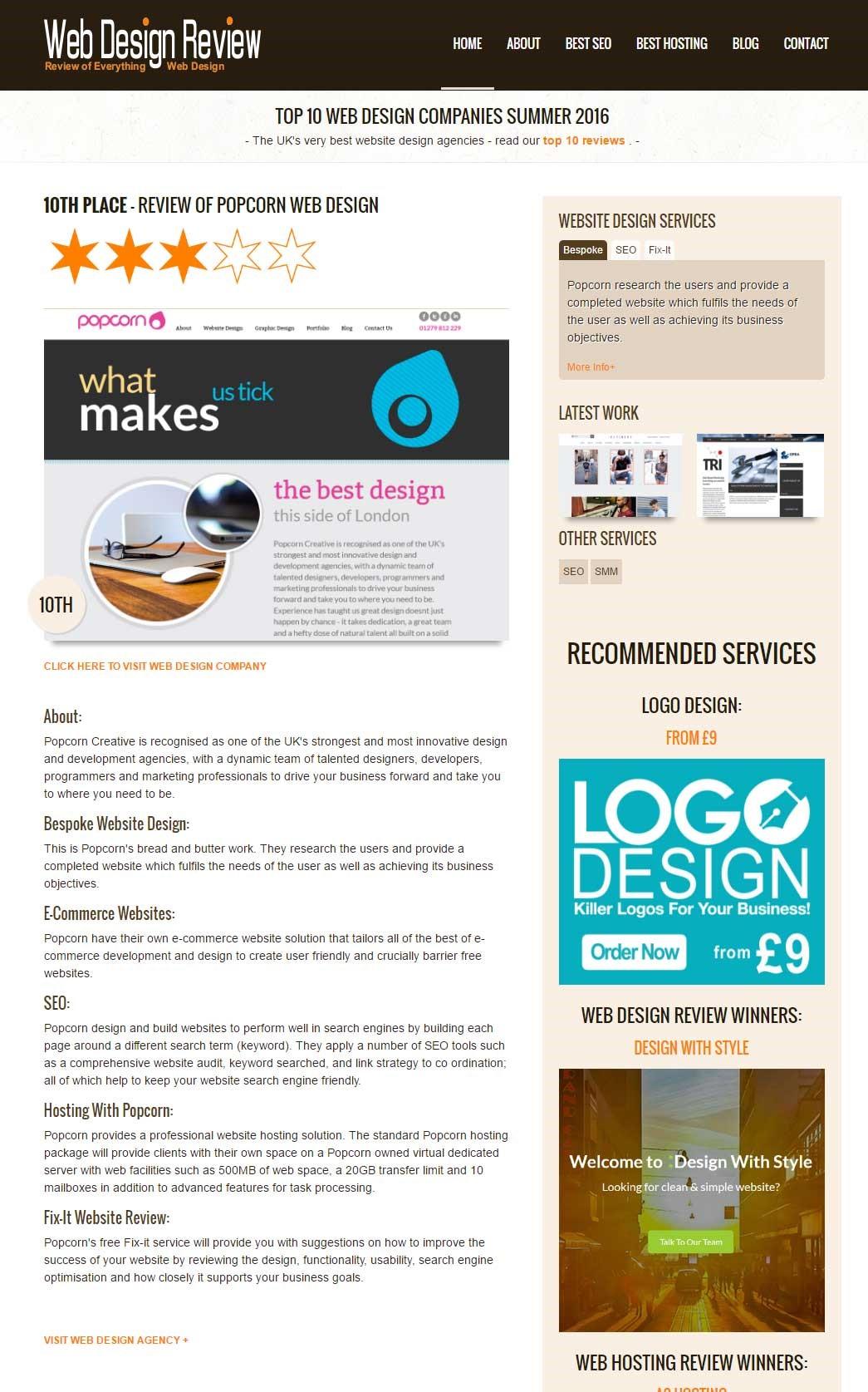 webdesign review